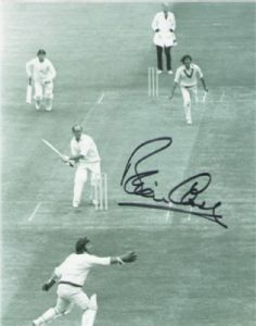 Brian Close, Cricket, Genuine Signed Autograph (01)